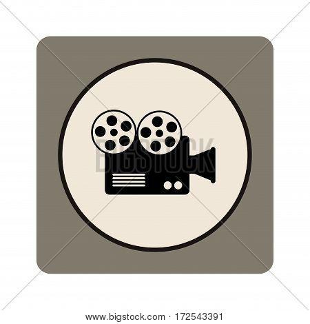 video camera cinema icon vector illustration design