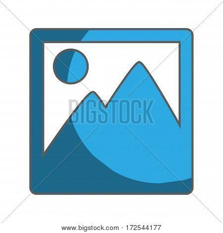 picture file isolated icon vector illustration design