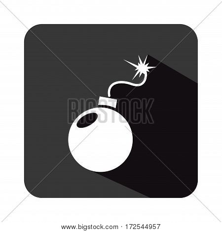boom explosive isolated icon vector illustration design