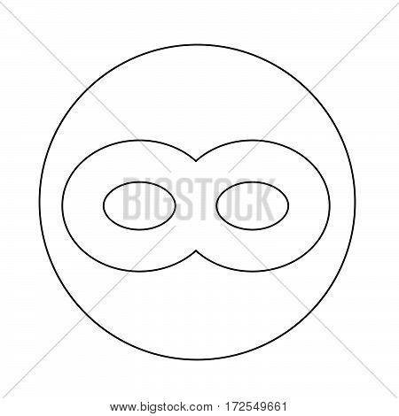 an images of Or pictogram Limitless symbol icon poster