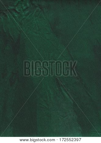 Abstract green fabric texture. Dark green fabric background