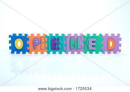 Toy Opened