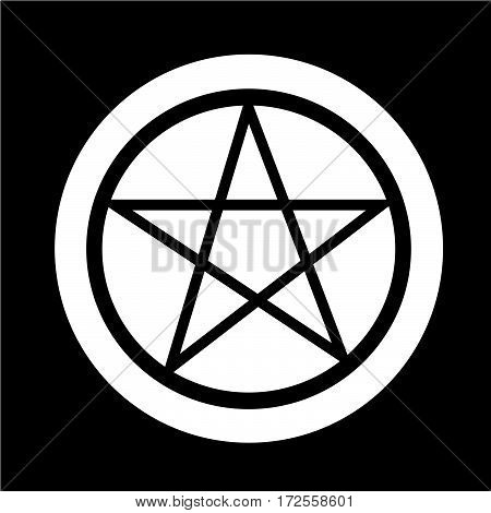 an images of Or pictogram Pentagram icon