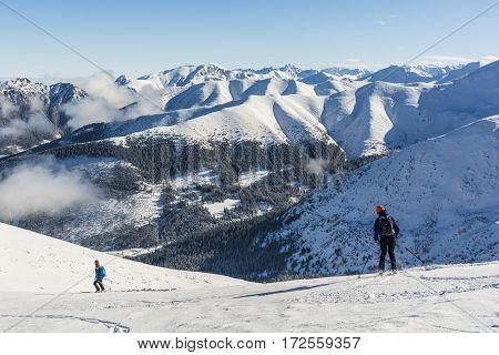 Ski Touring In The Tatra Mountains.