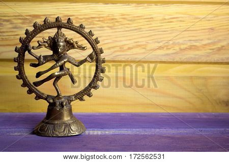 statuette of a dancing God Shiva Nataraja