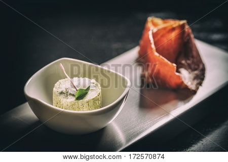 Compound Butter With Prosciutto