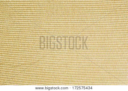 Yellow structure of a knitted cotton fabric background