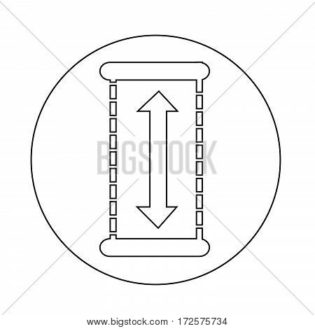 an images of Or pictogram Height Icon