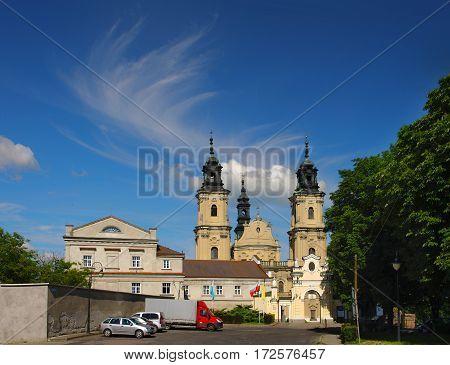 Dominican Church In Jaroslaw. Poland