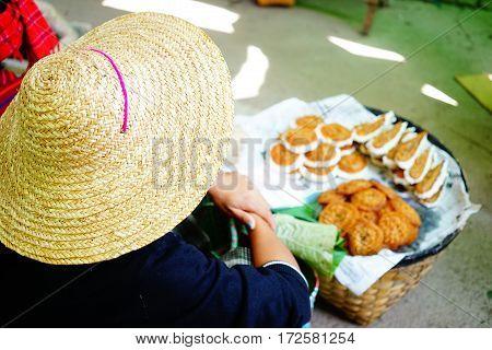 People At The Bogyoke Market In Yangon
