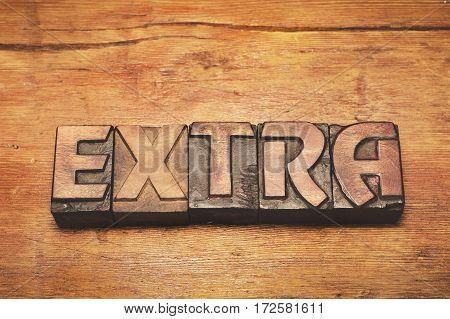 Extra Wood Vintage