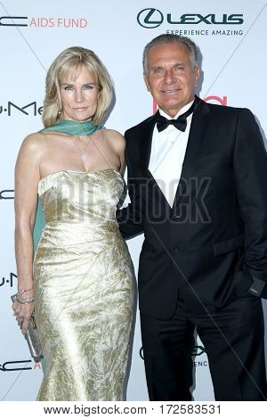 LOS ANGELES - FEB 19:  Robyn Meyerhof, Andrew P Ordon at the 2017 Hollywood Beauty Awards at the Avalon Hollywood on February 19, 2017 in Los Angeles, CA