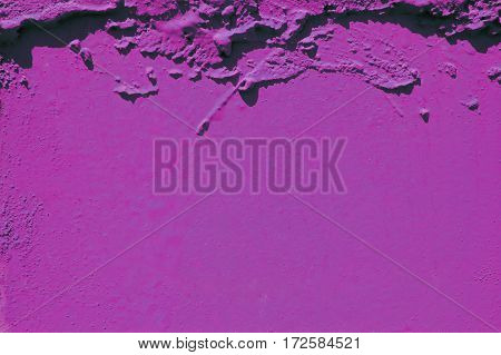 pink  grunge cement background, colored stone surface