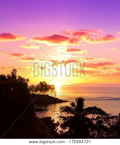 Sea Horizon Evening