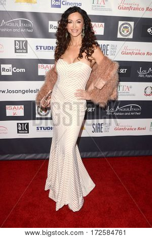 LOS ANGELES - FEB 19:  Sofia Milo at the Los Angeles Italia Film Festival at the TCL Chinese 6 Theaters on February 19, 2017 in Los Angeles, CA
