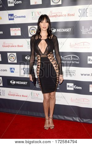 LOS ANGELES - FEB 19:  Eugenia Chernyshova at the Los Angeles Italia Film Festival at the TCL Chinese 6 Theaters on February 19, 2017 in Los Angeles, CA
