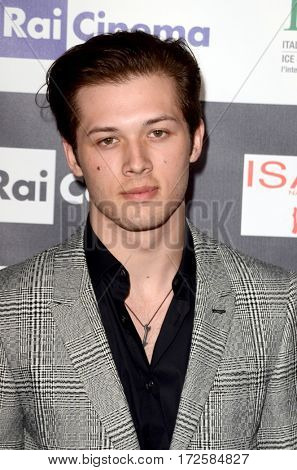 LOS ANGELES - FEB 19:  Leo Howard at the Los Angeles Italia Film Festival at the TCL Chinese 6 Theaters on February 19, 2017 in Los Angeles, CA
