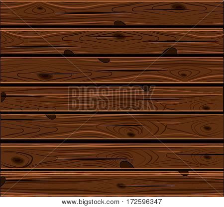 The Natural Dark Wooden Background.Old panels.Vector Grunge retro vintage texture. Pale wood.