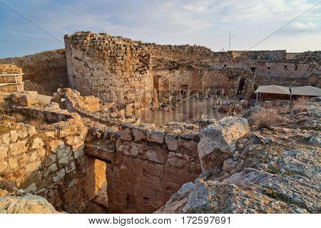 Herodium (Herodion) Fortress of Herod the Great, Judaean Desert, Israel