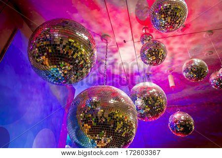 shining discoballs / mirrorballs
