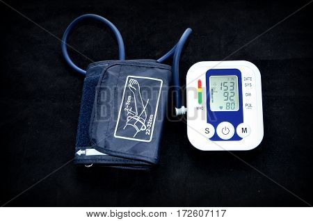 The device for blood pressure measurement - automatic tonometer