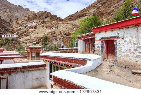 Buddhist Monastery in Kashmir, India