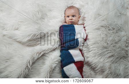 Serious Baby Boy