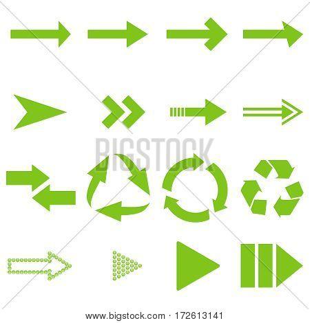 Arrows, pointers, arrow icon. Flat design vector illustration vector