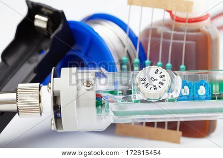 electronic and radio parts diy accessories macro