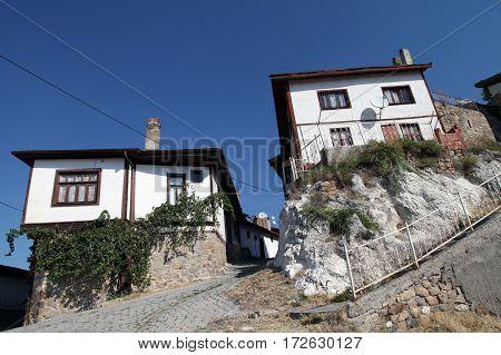 Ottoman architecture Beypazari Homes in Ankara, Turkey