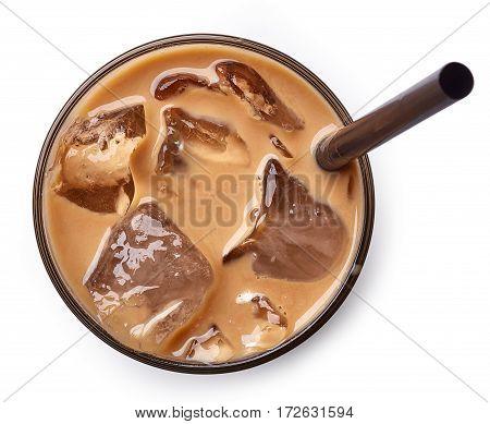 Glass Of Ice Coffee