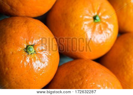 Clementines Close Up
