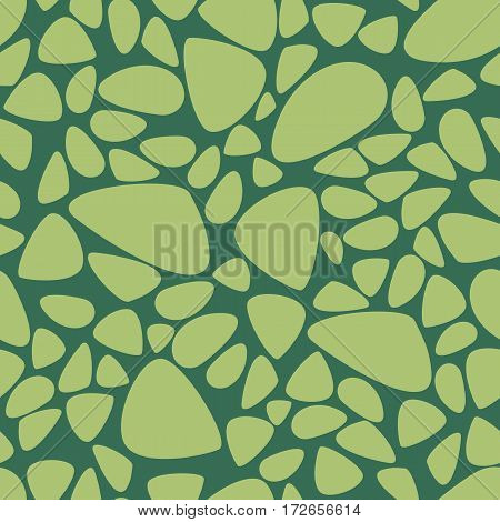 Spotted two color vector seamless pattern for design of fabrics and packaging