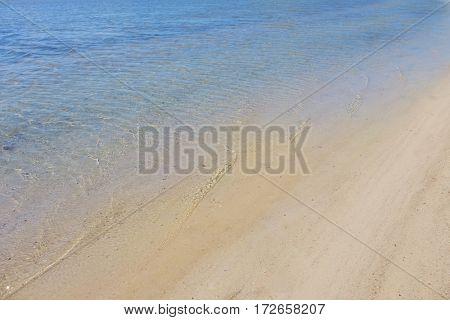Beautiful seashore landscape