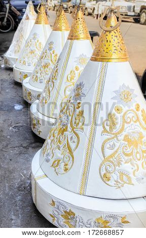 Moroccan Tyafer Gift Containers For Wedding Ceremony