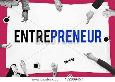 Business Life Commerce Entrepreneur Word