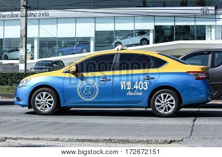 Taxi Meter Chiangmai, Nissan Sylphy
