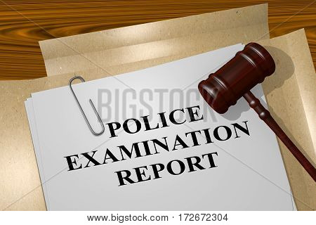 Police Examination Report - Legal Concept