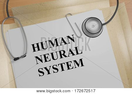 Human Neural System - Medical Concept
