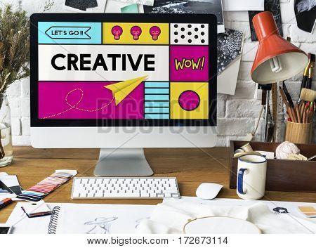 Creative Artistic Pop Art Graphic