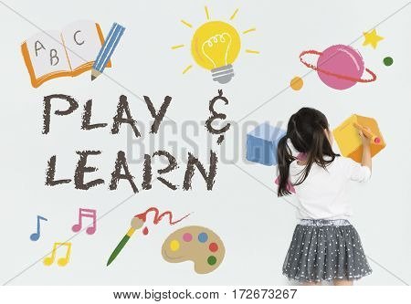 Learn Play Education Learning Icon