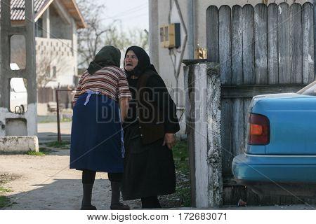 Senior Women Chatting