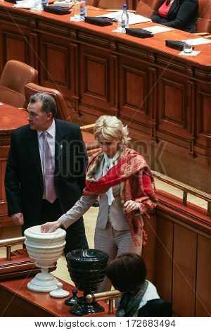 Romanian Parliamentary Session