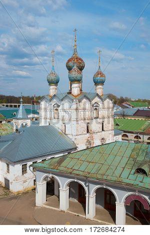 Ancient Orthodox Church. Religion architecture history Russia