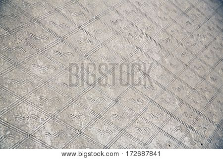 The  Legnano   Lombardy Italy    Pavement Of A Curch And Marble