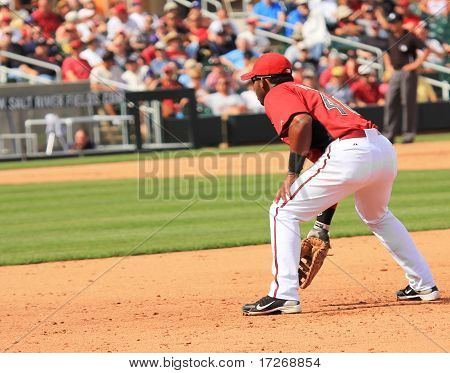 Arizona Diamondbacks First Baseman Juan Miranda