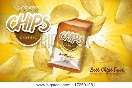 Potato Chips Ad Classic