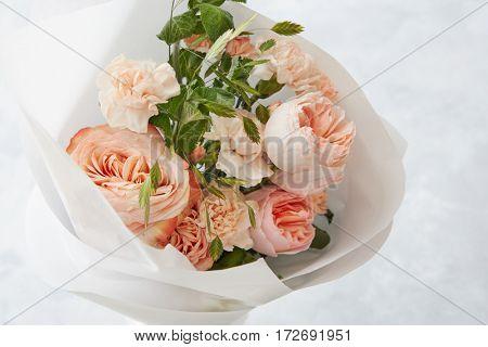 Beautiful pink roses