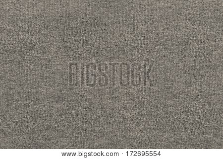 background and texture of beige color of soft knitted fabric of big resolution