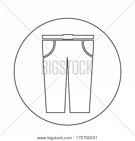 an images of Or pictogram Trousers Icon